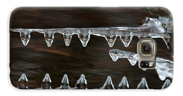 Ice Crocodiles Galaxy S6 Case by Lara Ellis