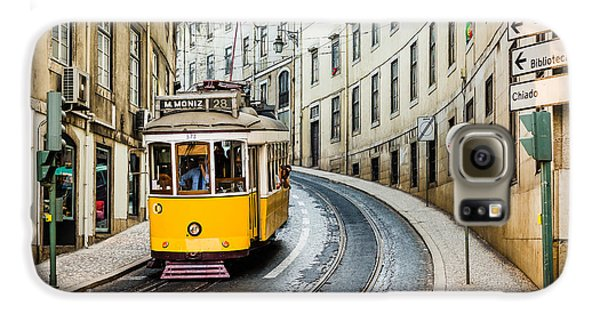 Travel Galaxy S6 Case - Iconic Lisbon Streetcar No. 28 IIi by Marco Oliveira