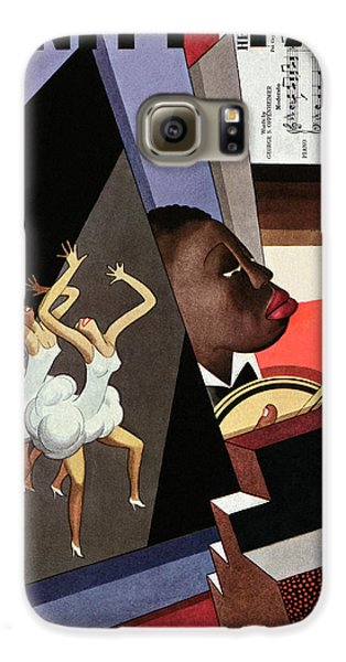 Illustration Of Harlem Entertainers Galaxy S6 Case by William Bolin