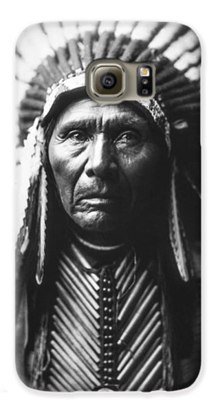 Portraits Galaxy S6 Case - Indian Of North America Circa 1905 by Aged Pixel