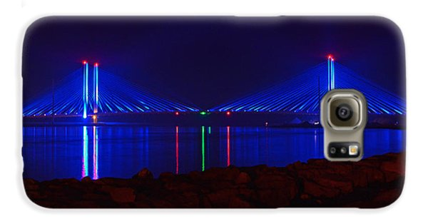 Indian River Inlet Bridge After Dark Galaxy S6 Case