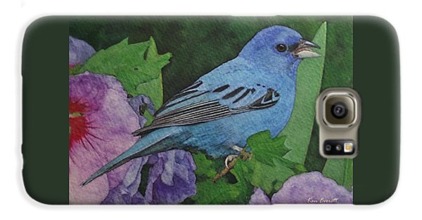 Indigo Bunting No 2 Galaxy S6 Case by Ken Everett