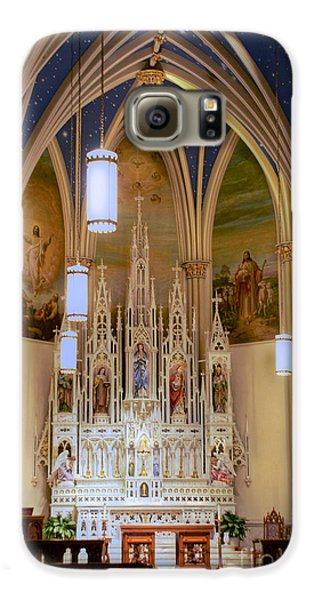 Interior Of St. Mary's Church Galaxy S6 Case