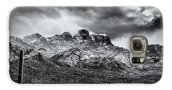 Galaxy S6 Case featuring the photograph Into Clouds by Mark Myhaver