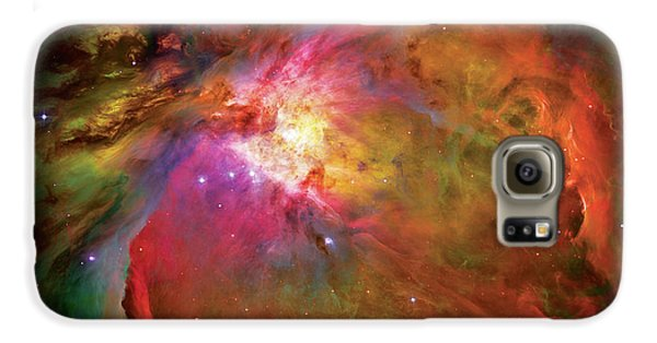 Into The Orion Nebula Galaxy S6 Case by Jennifer Rondinelli Reilly - Fine Art Photography