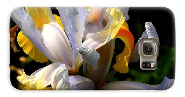 Garden Galaxy S6 Case - Iris by Rona Black