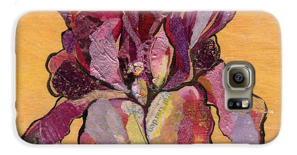 Iris V  - Series V Galaxy S6 Case by Shadia Derbyshire