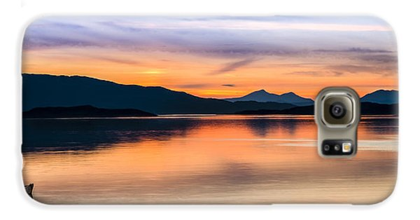 Sunset Isle Of Jura Scotland Galaxy S6 Case
