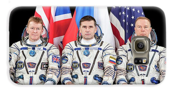Astronauts Galaxy S6 Case - Iss Expedition 46 Crew by Nasa