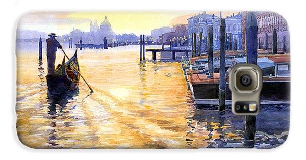 Town Galaxy S6 Case - Italy Venice Dawning by Yuriy Shevchuk