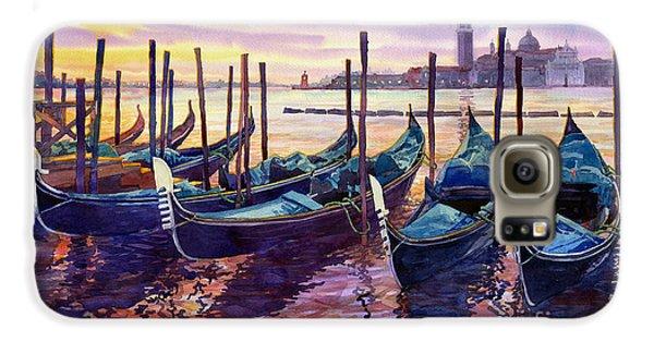 Boat Galaxy S6 Case - Italy Venice Early Mornings by Yuriy Shevchuk