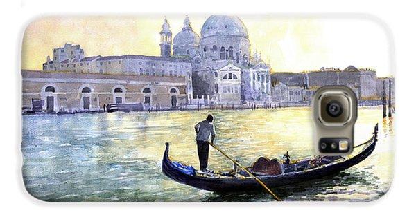 City Scenes Galaxy S6 Case - Italy Venice Morning by Yuriy Shevchuk