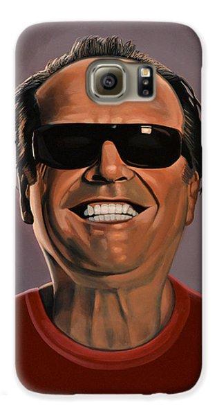 Jack Nicholson 2 Galaxy S6 Case by Paul Meijering