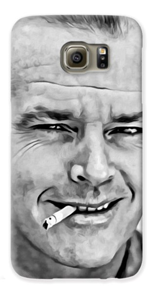 Jack Nicholson Galaxy S6 Case by Florian Rodarte