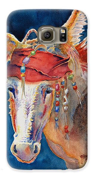 Johnny Depp Galaxy S6 Case - Jack Burro -  Donkey by Deb  Harclerode