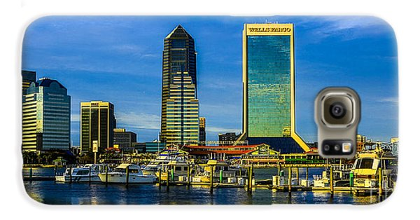 Jacksonville Skyline Sunset Galaxy S6 Case