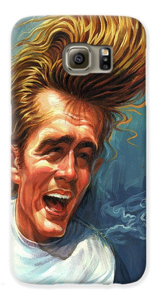 James Dean Galaxy S6 Case by Art