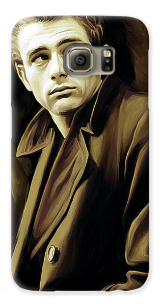James Dean Artwork Galaxy S6 Case by Sheraz A