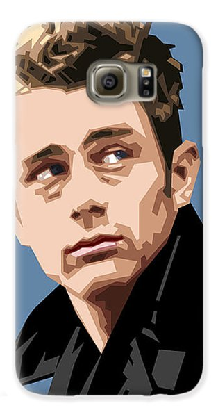 James Dean In Color Galaxy S6 Case by Douglas Simonson