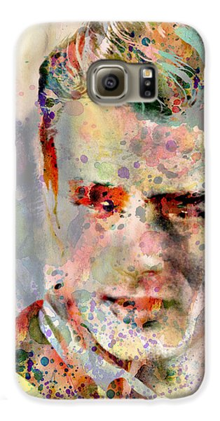 James Dean Galaxy S6 Case by Mark Ashkenazi