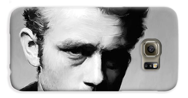 James Dean - Portrait Galaxy S6 Case by Paul Tagliamonte