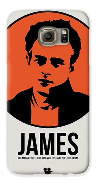 James Poster 1 Galaxy S6 Case by Naxart Studio