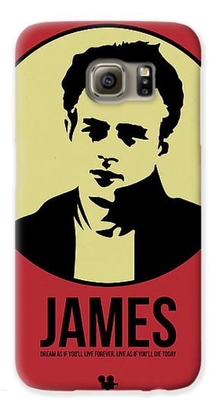 James Poster 2 Galaxy S6 Case by Naxart Studio