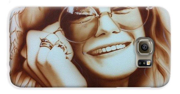 Janis Joplin - ' Janis ' Galaxy S6 Case