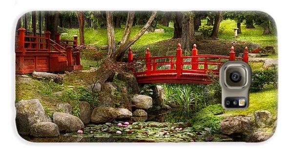 Japanese Garden - Meditation Galaxy S6 Case