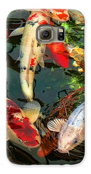 Japanese Koi Fish Pond Galaxy S6 Case