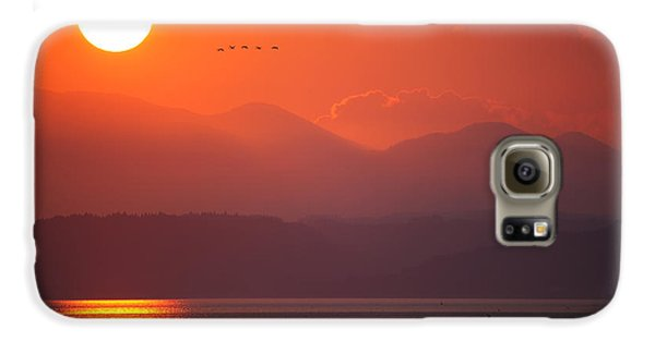 Japanese Sunset Galaxy S6 Case