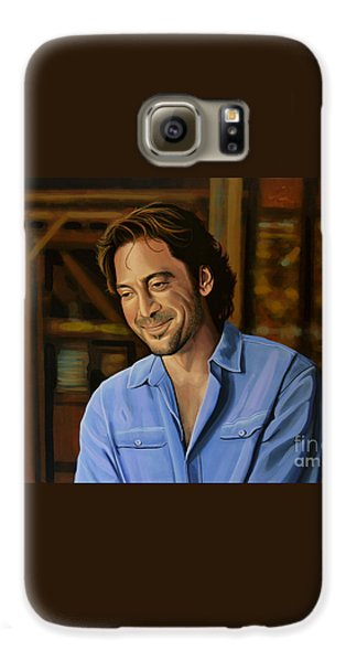 Javier Bardem Painting Galaxy S6 Case