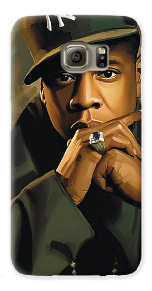 Jay-z Artwork 2 Galaxy S6 Case by Sheraz A