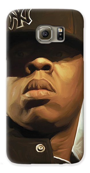 Jay-z Artwork Galaxy S6 Case by Sheraz A