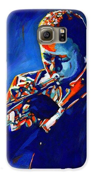 Trumpet Galaxy S6 Case - Jazz Man Miles Davis by Vel Verrept
