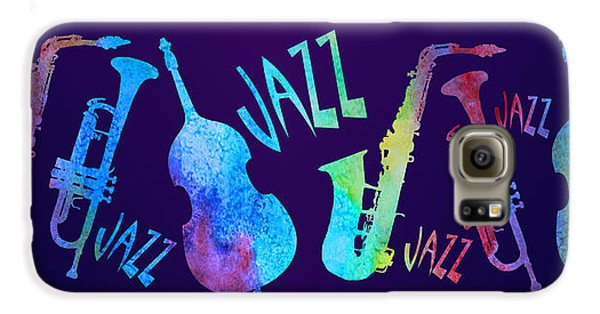 Jazzy Combo Galaxy S6 Case by Jenny Armitage
