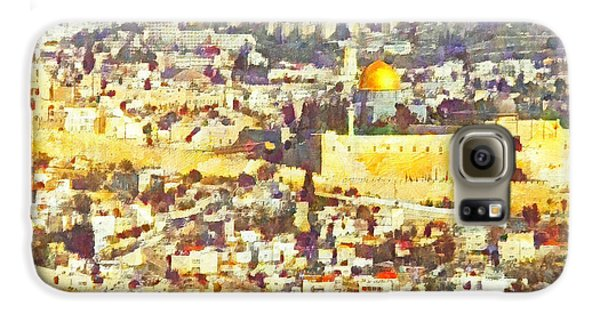 Jerusalem Sunrise Galaxy S6 Case