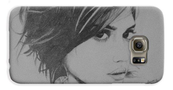 Jessica Alba Galaxy S6 Case by Ankur Choudhary