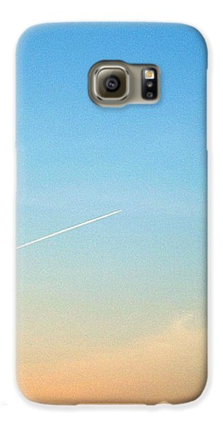 Galaxy S6 Case featuring the photograph Jet To Sky by Marc Philippe Joly