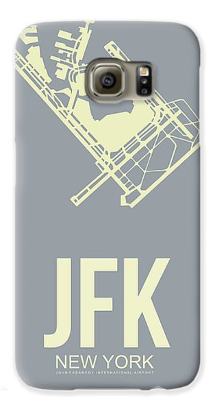 Jfk Airport Poster 1 Galaxy S6 Case by Naxart Studio