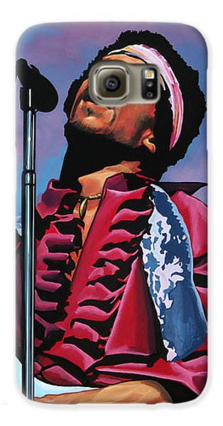 Knight Galaxy S6 Case - Jimi Hendrix 2 by Paul Meijering