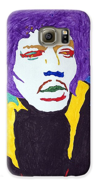 Voodoo Galaxy S6 Case - Jimi Hendrix Purple Haze  by Stormm Bradshaw