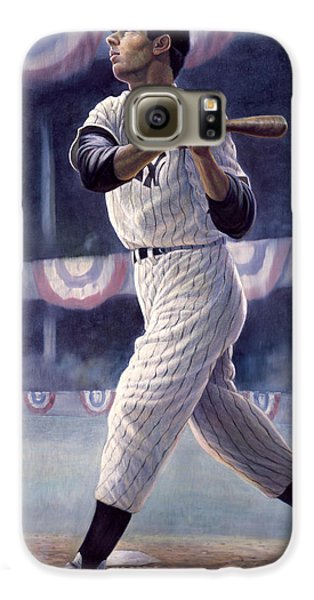 Joe Dimaggio Galaxy S6 Case by Gregory Perillo