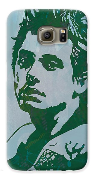 John Mayer - Pop Stylised Art Sketch Poster Galaxy S6 Case by Kim Wang