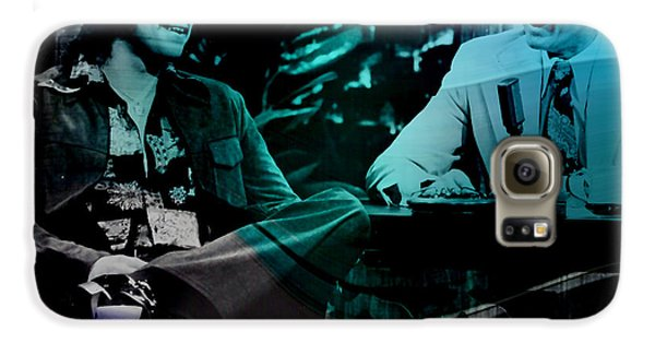 Johnny Carson And Freddie Prince Jr Galaxy S6 Case