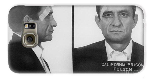 Johnny Cash Folsom Prison Large Canvas Art, Canvas Print, Large Art, Large Wall Decor, Home Decor Galaxy S6 Case