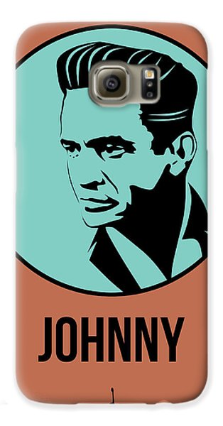 Johnny Poster 1 Galaxy S6 Case by Naxart Studio