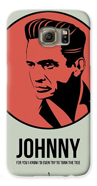 Johnny Poster 2 Galaxy S6 Case by Naxart Studio