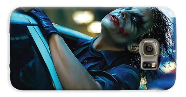 Joker Galaxy S6 Case by Veronika Limonov