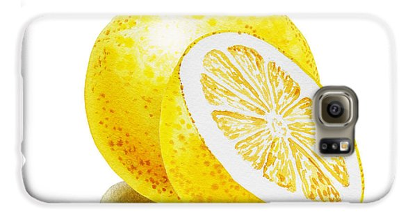 Juicy Grapefruit Galaxy S6 Case by Irina Sztukowski
